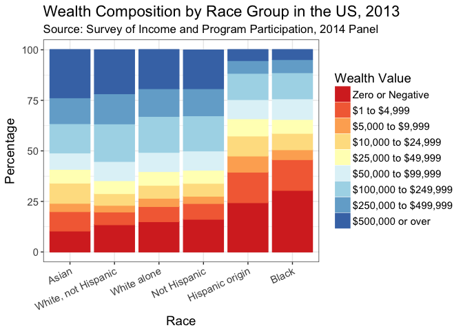 Race and Wealth Inequality in the USA
